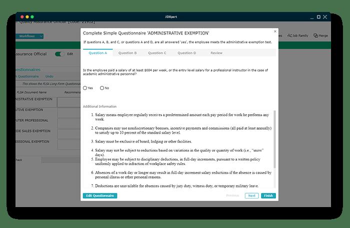 compliance features screenshot